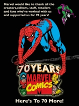 Celebrating70YearsOfMarvel